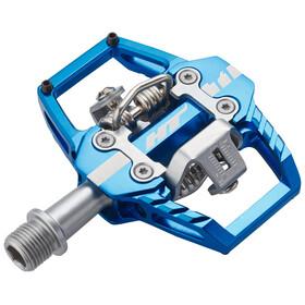 HT Enduro Race T1 Pedaler blå